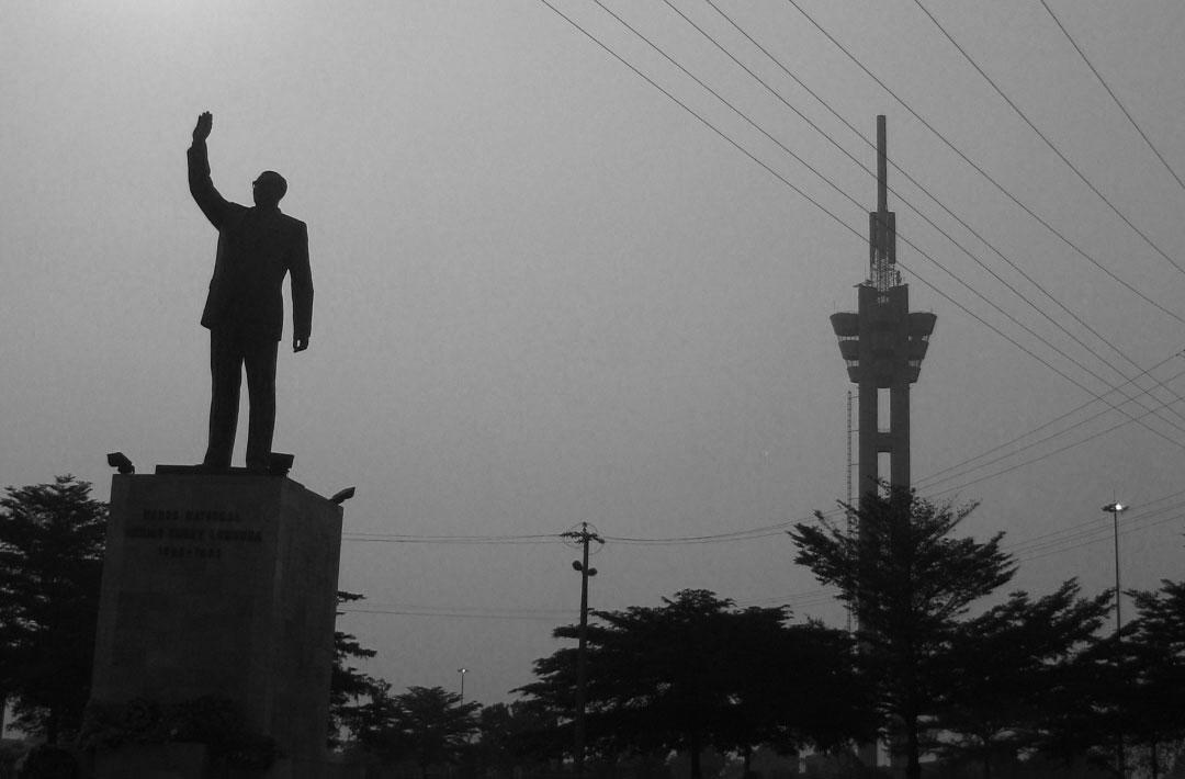 Lumumba statue