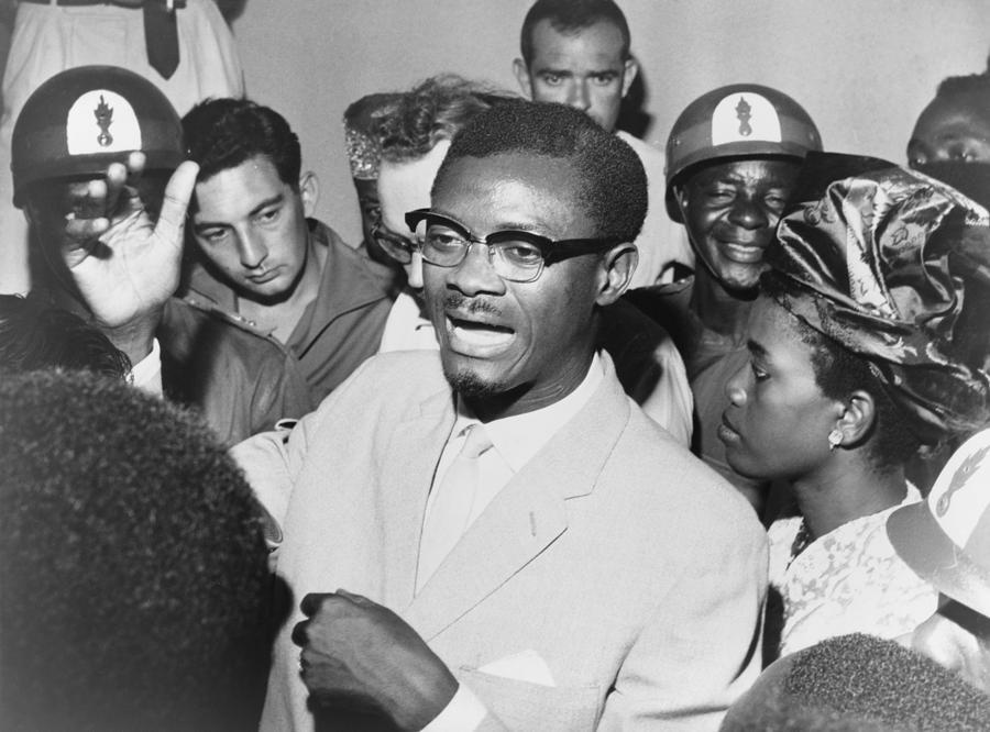 Patrice Lumumba Speaking