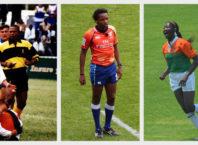 L-R: Mudiwa Mundawarara (Zimbabwe), Rasta Rasivhenge (South Africa), Precious Pazani (Zimbabwe)