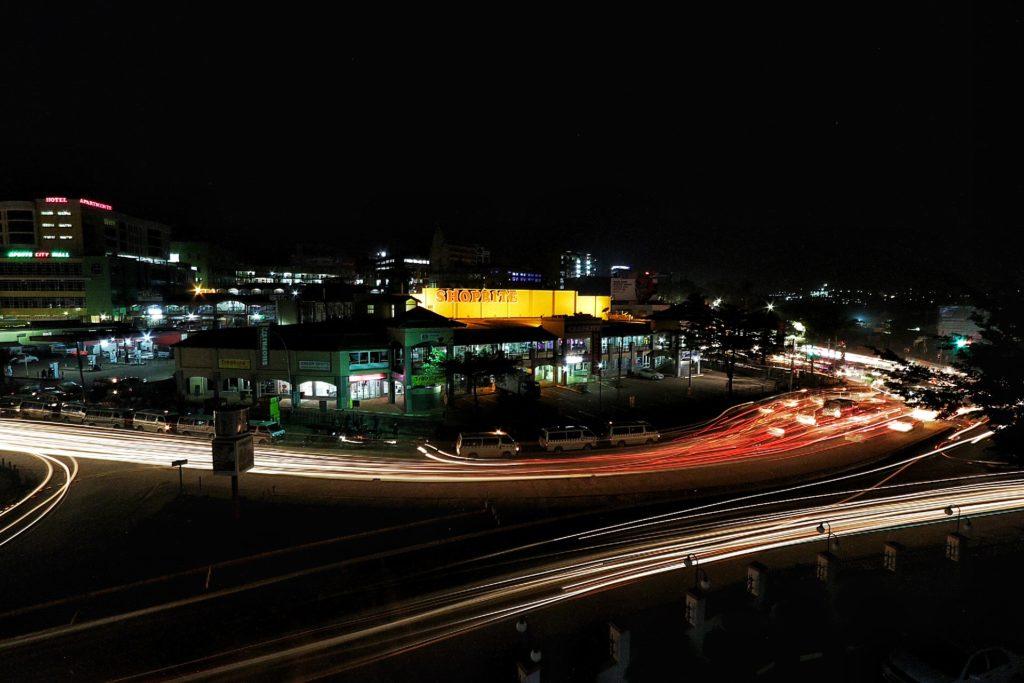 Kampala by night